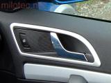 Dekory interiéru - rámečky kolem vnitřních klik dveří, Škoda Octavia II. 2004-2012, Yeti 2009-2013
