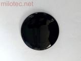 Kryt emblému, černá metalíza - zadní, Yeti 2009-2013 / Yeti Facelift od.r.v. 2013