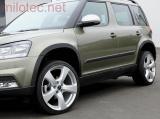Lemy blatníků, Škoda Yeti Outdoor Facelift od r.v. 2013