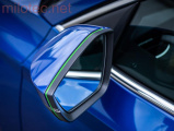 Design lišta zpětných zrcátek - zelená,Škoda Octavia III. 2013 –›