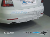 Difuzor zadního nárazníku - pro lak - sedan/combi,Škoda Octavia II facelift