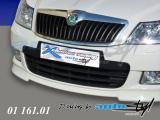 Lišta nad nasávací mřížku - černý desen, Škoda Octavia II facelift