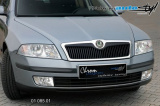 Lišta masky - černý desén, Škoda Octavia II