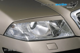 Mračítka předních světel - pro lak, Škoda Octavia II