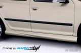Nástavky prahů, Škoda Octavia II facelift