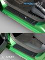 Ochranné kryty prahů Fabia II + Fabia II combi, Škoda Fabia II facelift