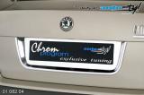 Rámeček registrační značky zadní - chrom Sedan, Škoda Octavia II