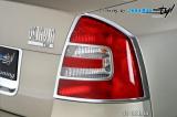 Rámeček zadních světel - chrom, Škoda Octavia II