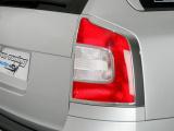Rámeček zadních světel combi - chrom, Škoda Octavia II facelift