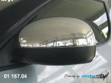 Kryt zpětného zrcátka - chrom (Škoda Octavia 2001)