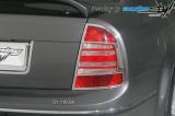 Rámeček zadních světel - chrom Superb, Škoda Superb