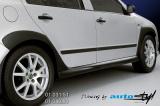 Nástavky prahů - černý desén* (Škoda Fabia)