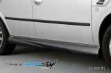 Nástavky prahů - černý desén,Škoda Octavia 2001