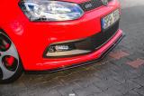 Přední spoiler nárazníku VOLKSWAGEN POLO MK5 GTI 6R PREFACE (2010 - 2014)