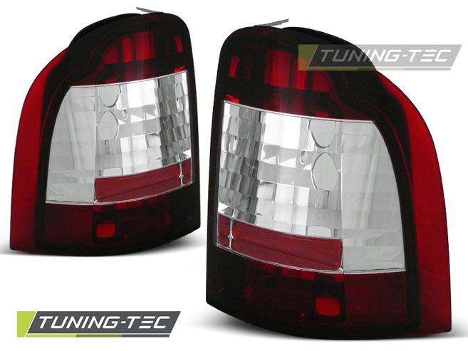 Zadné svetlá Ford mondeo 01-93-08-00 combi červená bílá TUNINGTEC