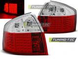 Zadné l'ad svetlá Audi A4 10-00-10-04 led červená bílá