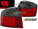 Zadné l'ad svetlá Audi A4 10-00-10-04 led červená kouřová
