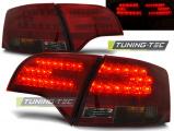 Zadné l'ad svetlá Audi A4 B7 04/11 - 03/08 combi,led červená kouřová