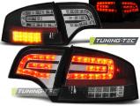 Zadné l'ad svetlá Audi A4 B7 4/11/03/08 sedan,černá