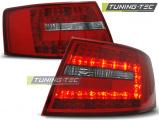 Zadné l'ad svetlá Audi A6 C6 sedan 04 / 04-08 červená bílá
