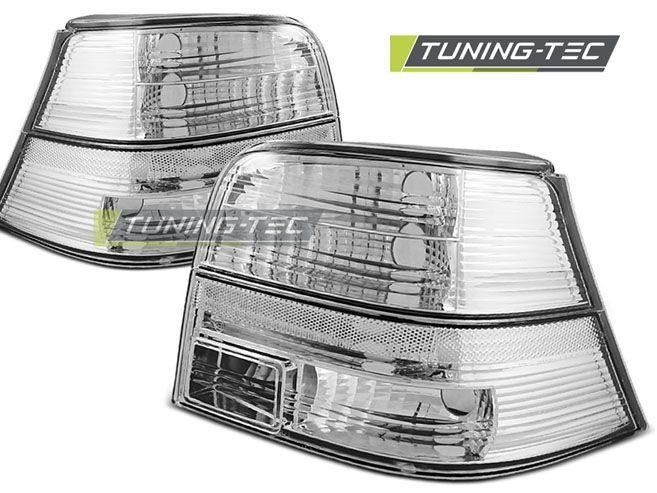 Zadné svetlá VW Golf 4 09-97-09-03 crystal bílá TUNINGTEC