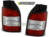 Zadné svetlá VW T5 04 / 03-09 červená bílá