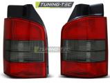 Zadné svetlá VW T5 04 / 03-09 červená kouřová