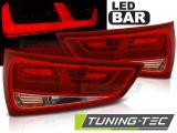 Zadné l'ad svetlá Audi A1 2010-12-2014 červená bílá