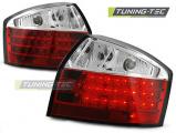 Zadné l'ad svetlá Audi A4 10-00-10-04 červená bílá