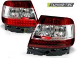 Zadné l'ad svetlá Audi A4 B5 11-94-09-00 červená bílá