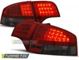 Zadné l'ad svetlá Audi A4 B7 11.- 11-07.sedan červená kouřová