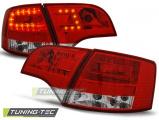 Zadné l'ad svetlá Audi A4 B7 4/11/03/08 combi červená bílá
