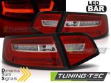 Zadné l'ad svetlá Audi A6 08-11 sedan červená bílá