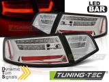 Zadné l'ad svetlá Audi A6 08-11 sedan chrom
