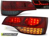 Zadné l'ad svetlá Audi Q7 06-09 červená kouřová