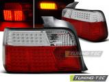 Zadné l'ad svetla BMW E36 12,90-08,99 sedan červená bílá