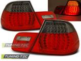 Zadné l'ad svetla BMW E46 04/99-03/03 cabrio červená kouřová