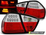 Zadné l'ad svetla BMW E90 03 / 05-08 / 08 červená bílá