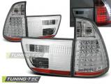 Zadné l'ad svetla BMW X5 E53 09/99-10/03 chrom