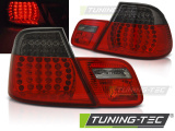 Zadné l'ad svetla BMW E46 03/04-06 coupe červená kouřová