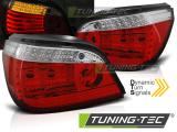 Zadné l'ad svetla BMW E60 LCI 07/03-12/09 červená bílá