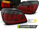 Zadné l'ad svetla BMW E60 LCI 07/03-12/09 červená kouřová