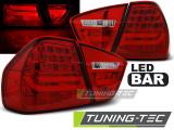 Zadné l'ad svetla BMW E90 03/05-08/08 červená