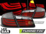 Zadné l'ad svetla BMW F10 10-07/13 červená bílá