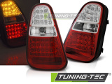 Zadné l'ad svetla BMW Mini Cooper  R50 / R52 / R53 04-06 červená bílá led