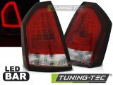 Zadné l'ad svetla Chrysler 300C 05-08 červená kouřová led bar
