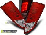 Zadné l'ad svetla Ford Focus MK1 10/98-10/04 hatchback červená bílá led