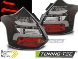 Zadné l'ad svetla Ford Focus 3 11-10/14 hatchback černá led bar SEQ IND.