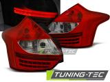 Zadné l'ad svetla Ford Focus 3 11-10/14 hatchback červená bílá led
