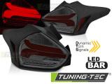Zadné la'd svetlá Ford Focus 3 15-18 hatchback červená  kouřová SEQ LED
